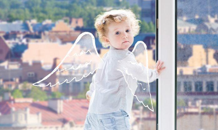 4-хлетний ребенок выпал из окна