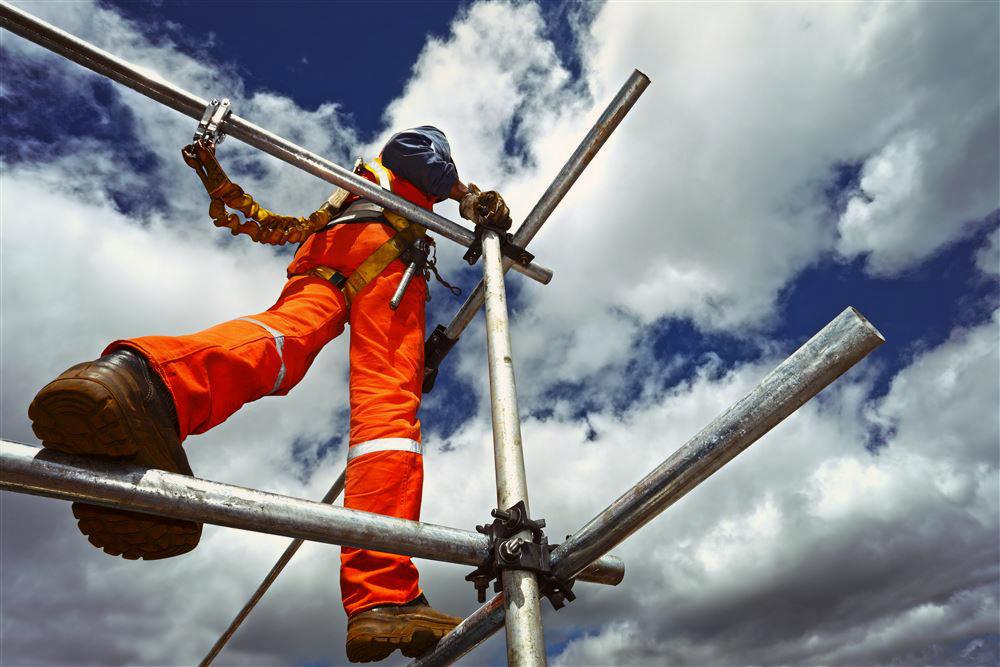 На УЭХК введен в работу полигон по отработке навыков работы на высоте    Новоуральский городской портал