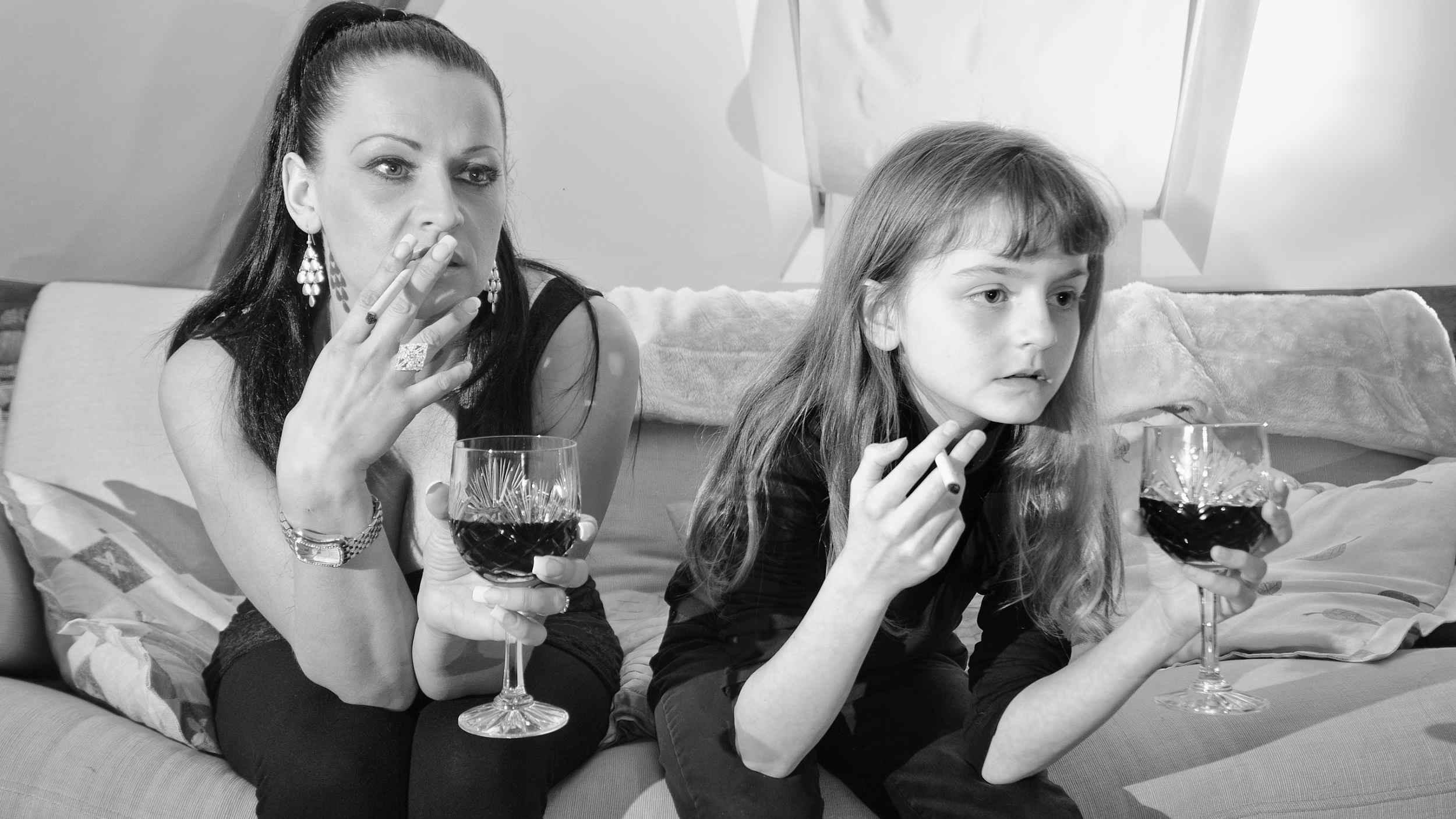 Преемственность поколений: алкоголичка избила мать и забрала деньги